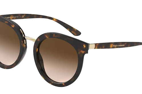 Dolce & Gabbana - Havana - Lente Marrom Escuro - 4371502/1352