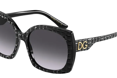 Dolce & Gabbana - Preto - Lente Cinza Degrade - 43853288G58