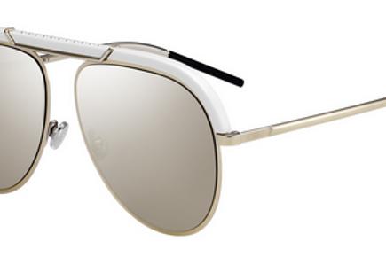 Dior Desertic - Branco/Dourado Espelhado - DESERTIC Y3R 58