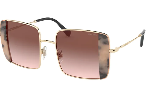 Miu Miu - CORE COLLECTION Havana - Lente Rosa/Marrom - 55VSPC75S051