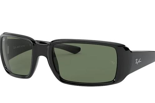 Ray Ban - Preto - Lente Verde Escuro - 4338 601/7159