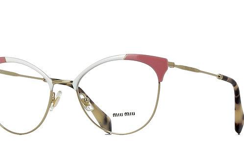 Miu Miu - Branco/Rosa - 50PV USQ 101 54