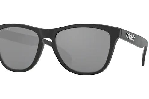Oakley - Frogskins Preto - Lente Prizm Preto Polarizado - 0OO9013-F755