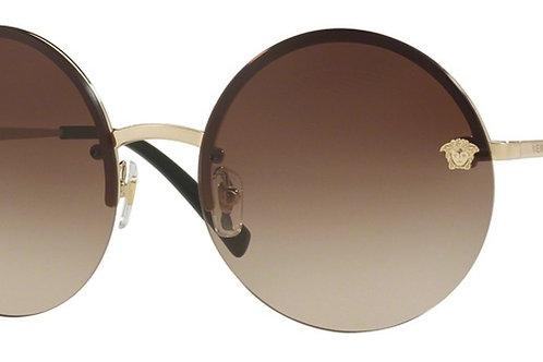 Versace - Dourado/Marrom Degradê - 217612 52 1359