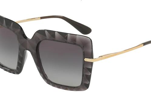 Dolce & Gabbana - Cinza - Lente Cinza Degrade - 6111504/8G51