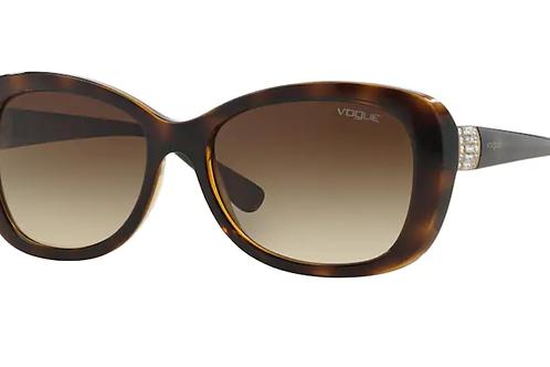Vogue - Havana - Lente Marrom Degrade - 2943SBW6561355