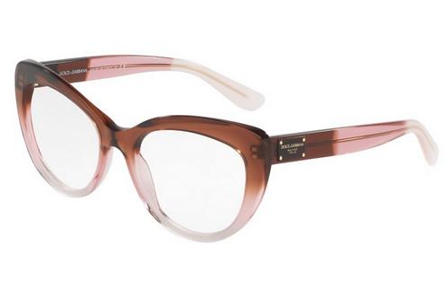 Dolce & Gabbana - Marrom/Transparente - 3255 3060 53