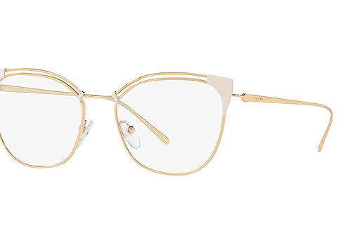 Prada - Dourado/Branco - 62UV YDD 101 51