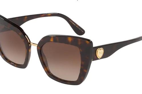Dolce & Gabbana - Havana - Lente Marrom Escuro - 4359502/1352