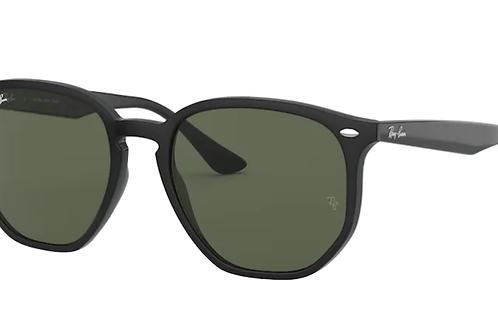 Ray Ban - Preto - Lente Verde Escuro - 4306L 601/7154