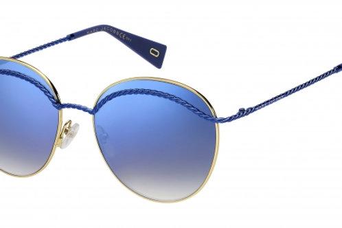 Marc Jacobs - Dourado/Azul - 253/S PJP 58