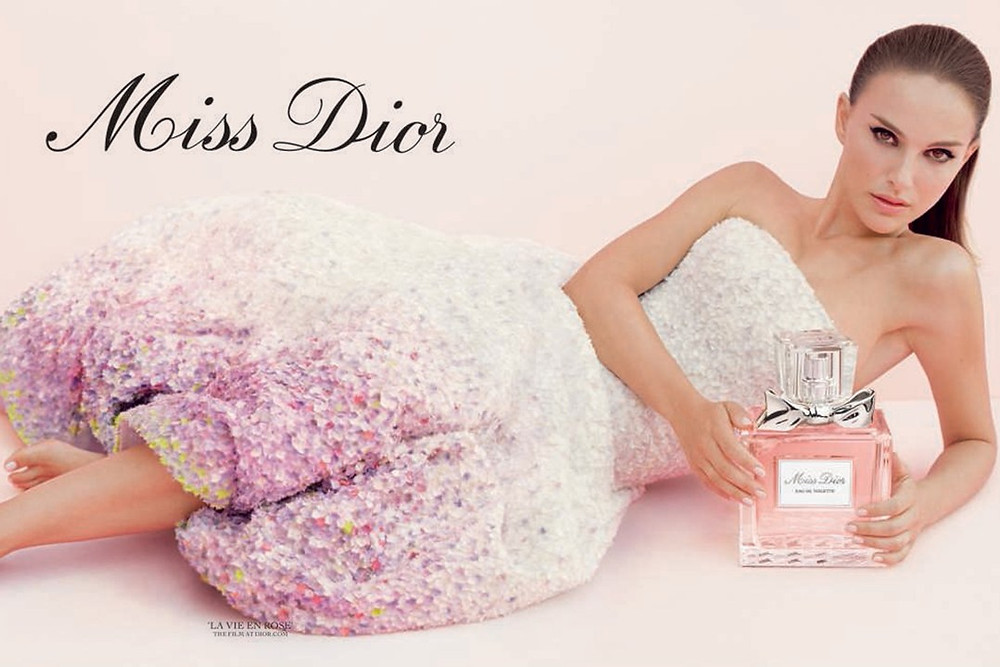 Foto: Natalie Portman como Miss Dior 2018