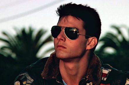 Foto: Tom Cruise como Maverick (Top Gun - 1986)