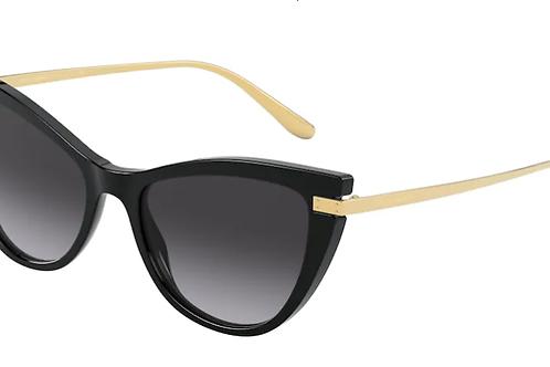 Dolce & Gabbana - Preto - Lente Cinza Degrade - 4381501/8G54