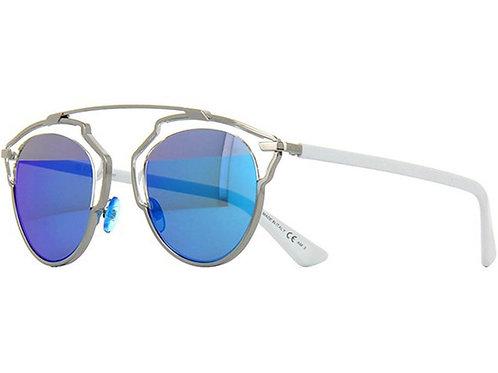 Dior So Real - Prata/Azul Espelhado - 187
