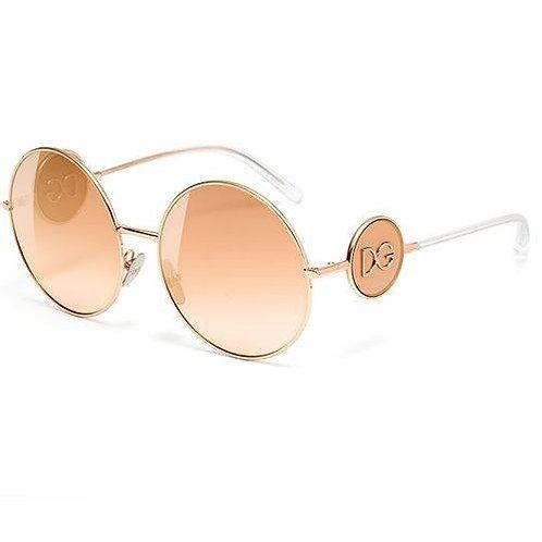 Dolce & Gabbana - ROsê/Rosê Degradê Espelhado - 2205 12986F 59