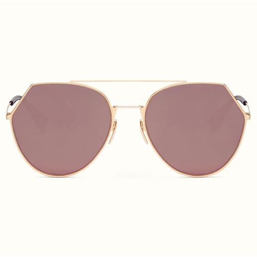 65b4ec293 Fendi Eyeline - Dourado/Rosê Espelhado - 0194/S DDB 55