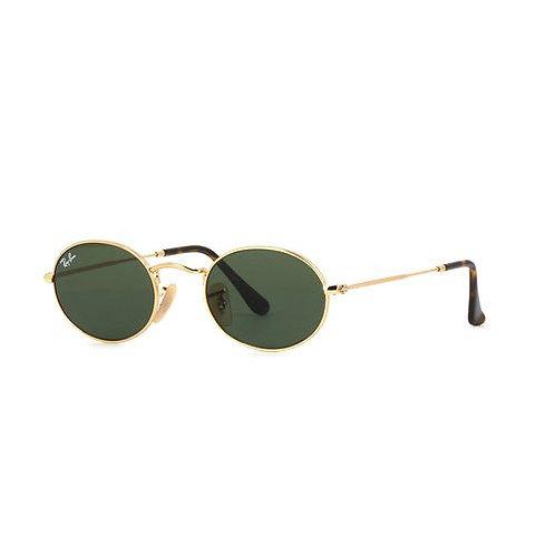 Ray-Ban Oval - Dourado/Verde G15 - 3547N 001 51