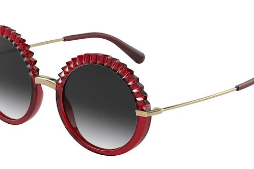 Dolce & Gabbana - Vermelho - Lente Cinza Degrade - 6130550/8G52
