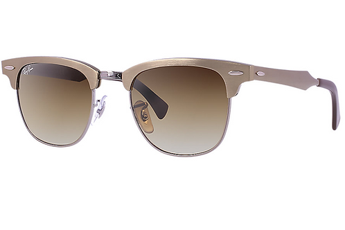 Ray Ban Clubmaster - Marrom/Bronze - 3507 139/85