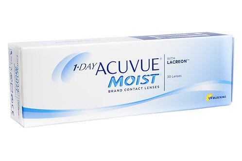 Acuvue 1 Day Moist - GRAU POSITIVO