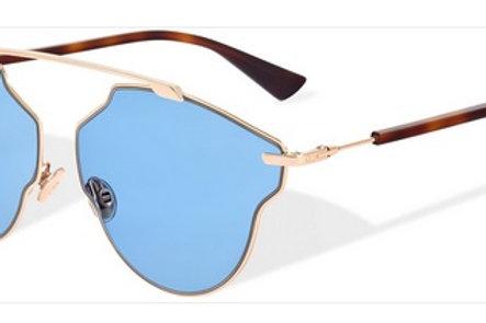 Dior So Real Pop - Dourado/Azul - DDB 59 KU