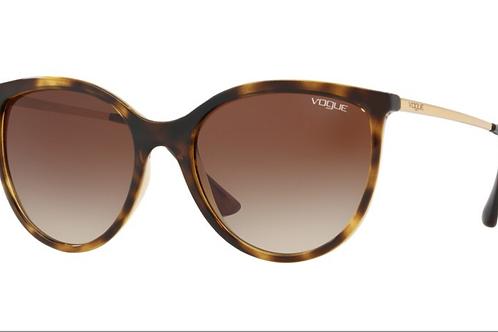 Vogue - Havana - Lente Marrom Claro Degrade - 5221SLW6561355