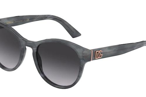 Dolce & Gabbana - Cinza - Lente Cinza Degrade - 437632518G52