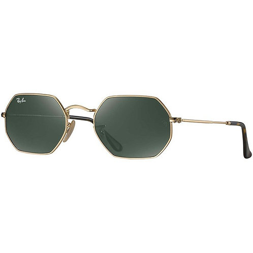 Ray-Ban Octagonal - Dourado/Verde G15 - 3556N 001 53