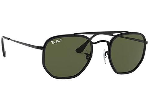 Ray Ban - Marshal Preto - Lente Verde G15 Polarizado - 3648M 002/5852
