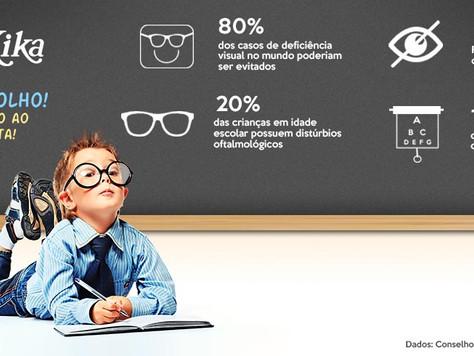 De olho na saúde ocular infantil