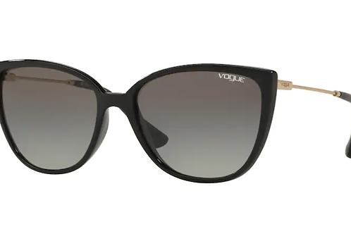 Vogue - Preto - Lente Cinza Claro - 5250SLW4/1155