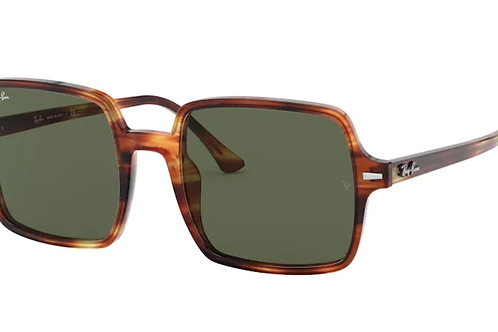 Ray Ban - Square Havana - Lente G15 green - 1973 954/3153