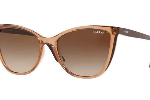 Vogue - Marrom - Lente Marrom Degrade - 5252SL26541356