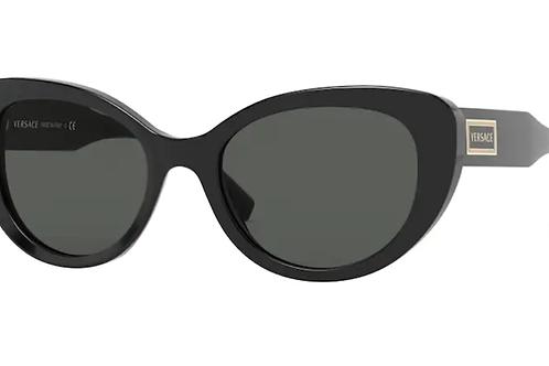 Versace - Preto - Lente Cinza Escuro - 4378GB1/8754