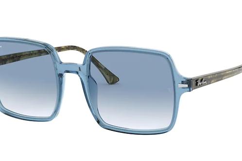Ray Ban - Square Azul Celeste - Lente Azul Claro Degrade - 1973 12833F53
