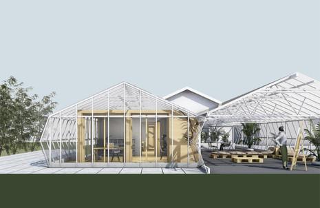 visualisierung gewächshaus
