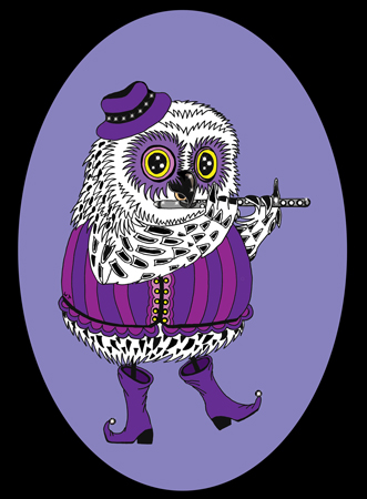 Flute-Owl-for-web-Right2-Black