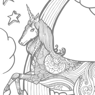 Printable Unicorn