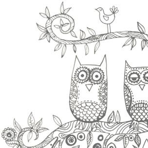 Printable Sleepy Owls