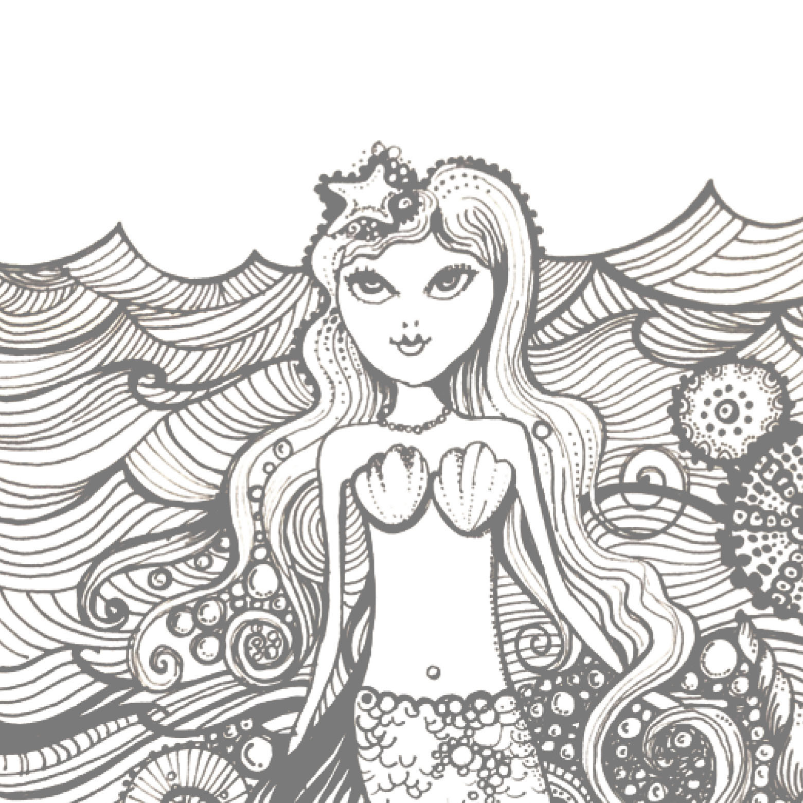 Printable Mermaid
