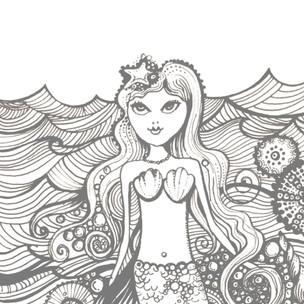 Printable Mermaid
