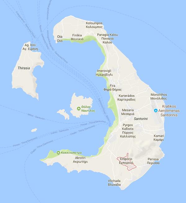Emborio Map