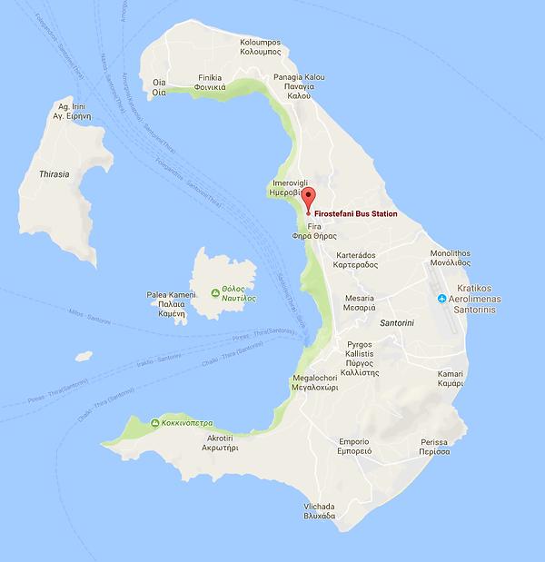 Firostefani Map