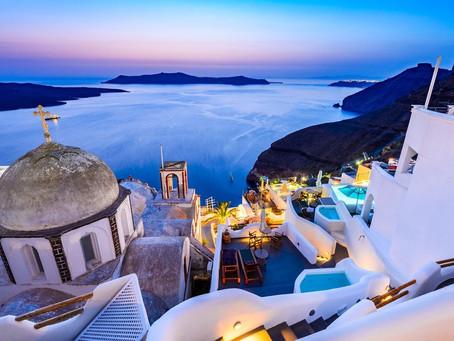 Santorini in October and Low Season