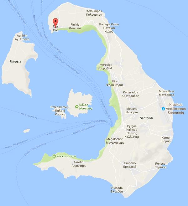 Oia Map