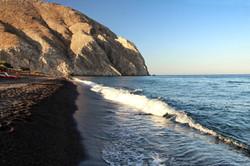 Black beach Perivolos