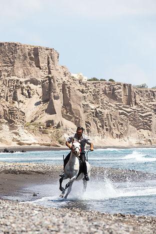 Sanorini Horse Riding