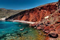 Red beach Akrotiri