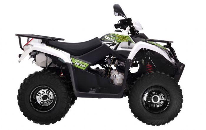 Kymco white mxu 310